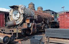 Derelict K-37 loco, Durango yard 498 IMG_5290 Durango & Silverton RR (Recliner) Tags: baldwin dsng drg