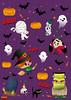 happy_halloween2017 (bubblefriends) Tags: bubblefriends illustration illustrator spooky halloween characterdesign boo skull witch dracula mummy frankenstein bat pumpkin halloween2017 tombstone ghost