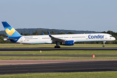 G-JMOG / Thomas Cook Airlines / Boeing 757-330(WL) (Charles Cunliffe) Tags: canon7dmkii aviation manchesterairport egcc man thomascookairlines tcx mt boeing757 757300 gjmog