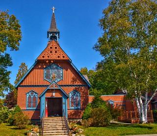 Saranac Lake  - New York - The Episcopal Church of St. Luke  - Historic