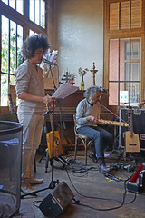 Jean-Luc Raharimanana et Tao Ravao (la Cartoucherie, Paris)