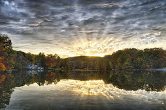 After a Hard Day of Work, Home! (John Prause) Tags: vernon pleasantvalleylake newjersey nj sunset fall