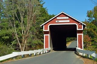 Slate Covered Bridge, NH