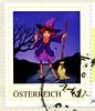great stamp Austria 62c Halloween (witch, Hexe, sorcière, 巫婆, noita, μάγισσα, strega, 魔女, vještica, pythonissam, heks, czarownica, vrăjitoare, häxa, вештица, čarodejnice, čarovnica, bruja, čarodějnice, cadı, boszorkány, bruxa, відьма) timbre Autriche (stampolina, thx for sending stamps! :)) Tags: rakousko austria österreich austrija avusturya østerrike ausztria オーストリア stamps stamp 切手 briefmarken スタンプ postzegel zegel zegels марки टिकटों แสตมป์ znaczk witch hexe sorcière 巫婆 noita μάγισσα strega 魔女 vještica pythonissam heks czarownica vrăjitoare häxa вештица čarodejnice čarovnica bruja čarodějnice cadı boszorkány bruxa відьма 62 bunt color colour autum herbst halloween
