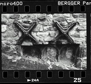 Full frame Bergger Pancro 400/Beutler