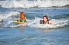Violet And Helen Boogie-Boarding (Joe Shlabotnik) Tags: july2017 higginsbeach helent violet 2017 maine boogieboard ocean beach afsdxvrnikkor55300mm4556ged faved