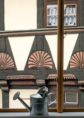 Hölle Nr. 5 (krieger_horst) Tags: fachwerk hölle braun fenster quedlinburg
