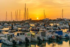 Sonnenuntergang... (Matthias Hertwig) Tags: matthias hertwig sunset sonnenuntergang hafen boote sonne urlaub spanien andalusien isla canela sony a6000 wasser ayamonte
