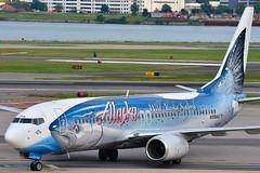B738 Alaska Airlines - N559AS - DCA (stefano @viation) Tags: n559as b738 alaska salmon