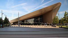 Rotterdam Centraal (Krzysztof D.) Tags: rotterdam holandia thenetherlands nederland miasto city europa europe architecture architektura dworzec station stacja bahnhof