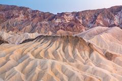 Zabriskie Point, Death Valley (jezhughesphotography) Tags: california goldenhour warm northamerica summer shade nps nationalpark photography deathvalleynationalpark deathvalley usa america explore zabriskipoint