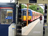 Hampton Court station, London (Steve Hobson) Tags: hampton court london station south west trains class 455 emu