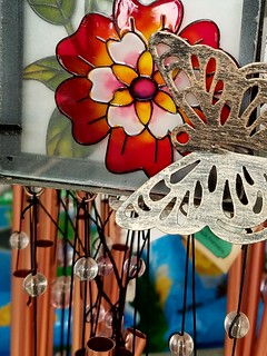 Wind Chimes Caught My Eye At A Garden Center Recently........ Photos by Joseph