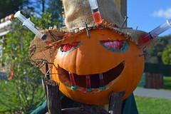 Syringe-o-Lantern (MTSOfan) Tags: scarecrow addiction drugs syringes