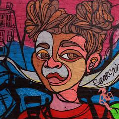 """Mural Deatail"" - Pilsen - Chicago - 15 Oct 2017 - 5DS - 111-FLKR222 (Andre's Street Photography) Tags: chicago chicagoil secondcity windycity pilsen westside southwestside streetart detail mural muralistart samkirk samkurkmural chicagoist urban urbanart canon eos eos5ds sigma sigmaart artlens sigma20mmartlens prime primelens 20mmprime photobyandrevanvegten"
