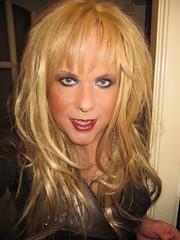 We all need a ray of sunshine, don't we? (Irene Nyman) Tags: irenenyman dutch crossdress crossdresser irene nyman tranny tgirl transgirl blueeyes leather cutie babe blonde xdresser mtf transvestite cute holland makeup portrait dress minidress jacket