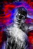 What next ? (max_photos-plus) Tags: lightpainting fibre optique optic fibers fibras ópticas couleur color what next red rouge rojo blue bleu azul portrait retrato photos plus maxime pateau despar désaturation partiel selective