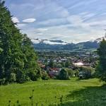 View over Kiefersfelden in Bavaria, Germany thumbnail