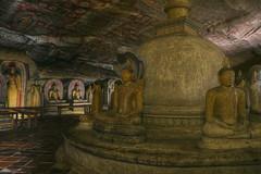 Golden Temple Of Dambulla (State of Decay) Tags: srilanka cylon dambulla buddha boeddha buddhism boeddhisme cave grot tempel temple travel hdr ancient oud heilig sacred