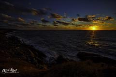 Cabot Trail Sunset (wilbias) Tags: canada sunset water island sun coast trail east evening shore shoreline cape atlantic nova scotia breton maritimes cabot