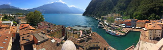 Riva del Garda and it's harbour