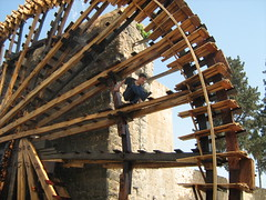Boy of the Noria (marco_albcs) Tags: syria syrie 2010 síria travel travelling arab arabic middle east middleeast levant levante noria hama boy radical nora rapaz muchacho garçon