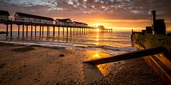 Southwold Pier Suffolk. (Albert's Photo's) Tags: southwold sunrise suffolk canon 5dmkiii lseries lee uk seascape coastal photography pier