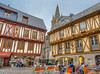 Visiting Vannes... medieval city in Brittany. (capvera) Tags: vannes medieval timbered morbihan