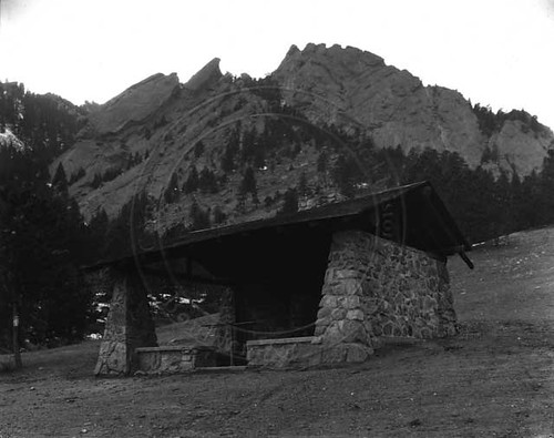 Photo - Overview of Bluebell Shelter (1933)