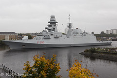 Luigi Rizzo (rjonsen) Tags: boat vessel military clyde river sailing water war ship exercise grey