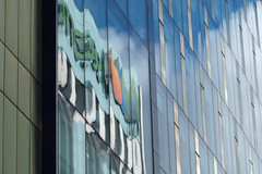 power reflection (278/365) (werewegian) Tags: glasgow scottish power city highrise glass reflection werewegian oct17 365the2017edition 3652017 day278 5oct17 abstract
