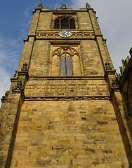 Clock Tower  St Marys Church Mold Flintshire North Wales Oct 2017 (mrd1xjr) Tags: clock tower st marys church mold flintshire north wales oct 2017