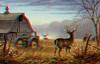 Autumn season animals Converion 2D to 3D (SculpteurdArts Fan2relief3D) Tags: anaglyphe rouge cyan أناجليف أحمر سماوي анаглиф красный голубой