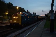 DSC02964 (Alexander Morley) Tags: bluebell railway deltic preservation society 40th anniversary dps gala horsted keynes d9009