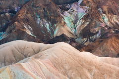 Colours and Metals from Zabriskie Point, Death Valley (jezhughesphotography) Tags: california goldenhour summer warm northamerica shade nps nationalpark photography deathvalleynationalpark deathvalley usa america explore zabriskipoint
