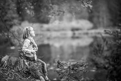 Photowalk with my daughter :) (em-si) Tags: austria österreich carinthia kärnten lake see nikond800 photowalk samyang13520 blackwhite bw schwarzweis tauernteich