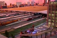 Miniworld Rotterdam (3) (Krzysztof D.) Tags: rotterdam holandia thenetherlands nederland miasto city europa europe dworzec station stacja bahnhof thalys model makieta kolej railway