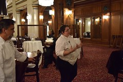 Walnut Room Wine Dinner (lynfredwinery) Tags: macys walnut room chicago chicagowine lynfredwinery lynfred food winery chefs scallops