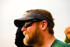 Cheering on the Mavericks in Molalla (pete4ducks) Tags: molalla oregon 2017 beard man