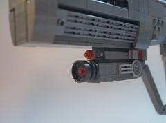 Lego Halo 3 ODST Magnum: Sight and Flashlight ({Jim.Kromastus}) Tags: halo halo3 halo3odst odst lego pistol magnum socom