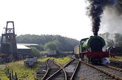 Whinston .Foxfield Railway (ROPERUNNER) Tags: foxfield cranetank beyerpeacock rsh70631942 belerpophen whinston hunslet foxfieldcolliery dubs thomashill diesel locomotive