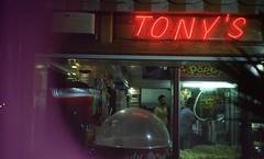 TONY'S (That James) Tags: tonys malta bugibba birkirkara neon light funfair grabber amusements toys fun fair arcade retro vintage film cinematic halina 35x fluorescent lighting aesthetic blur night nightlife