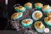 Deviled Eggs (twofoodies) Tags: deviledeggs huevosduros halloween nochedebrujas