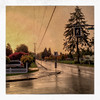 silver streets - 2016 (Patricia Colleen) Tags: iphone thestreetsoftsawwassen 12thavenue rainyday