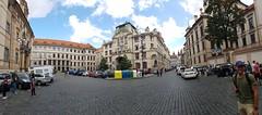 Prague City Hall (Donald Morrison) Tags: praguecityhall oldtownsquare street square prague czechrepublic