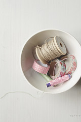 Threads and Tapes (Sylvia Houben) Tags: tapes threads