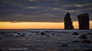 After Sunset at Mosteiros Beach