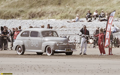 Pendine sands, Hot rod event 2017 (technodean2000) Tags: hot rod pendine sands wales uk nikon d610 baby blue red wheels classic car sea sky outdoor d810 old postcard style vehicle truck digital nikkor auto monochrome 216 grass road people photoadd 223 landscape 246 sand beach rock boat 224 3 430 221 water ocean wheel 329 299 348
