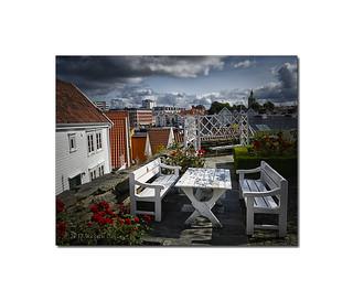 Stavanger Harbour Scene