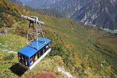 In de Japanse Alpen (Maurits van den Toorn) Tags: japan nippon berg mountain alps japanesealps kabelbaan cablecar seilbahn helling slope panorama landschap landscape landschaft
